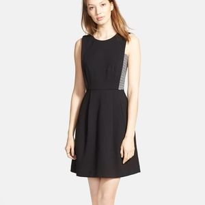Madewell Ponte Knit Fit & Flare Dress